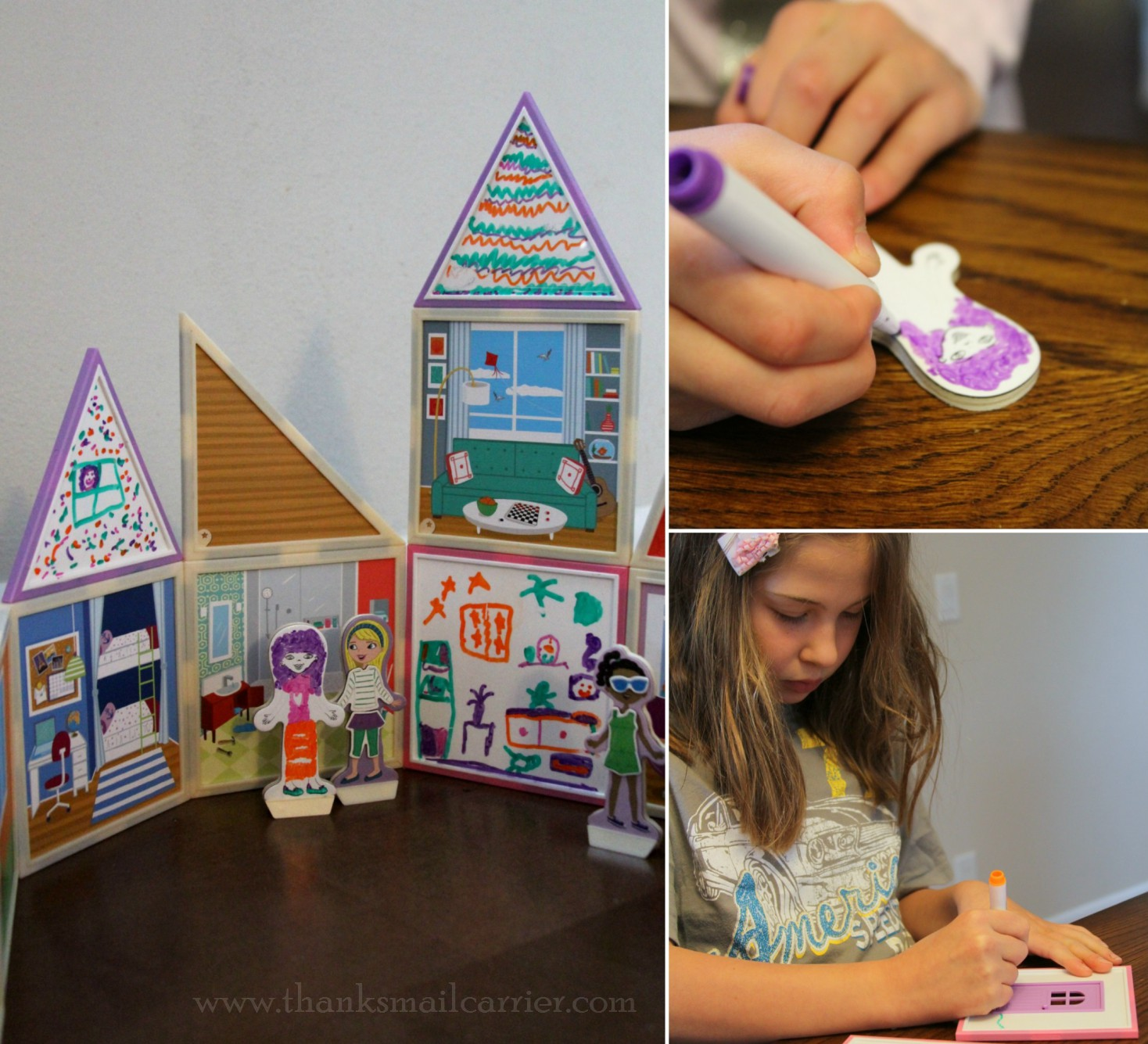 Build & Imagine Draw & Build Dollhouse