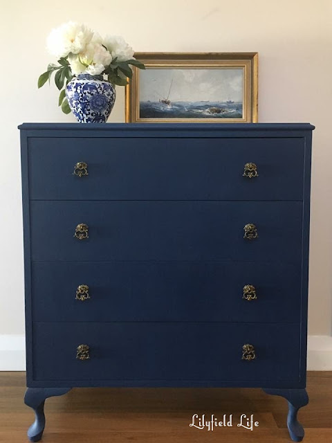 Lilyfield Life Navy Chalk painted furniture