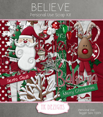 Freebie Christmas Kits !
