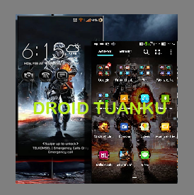 Download Battlefield Theme ZenUI apk for Asus Zenfone 5