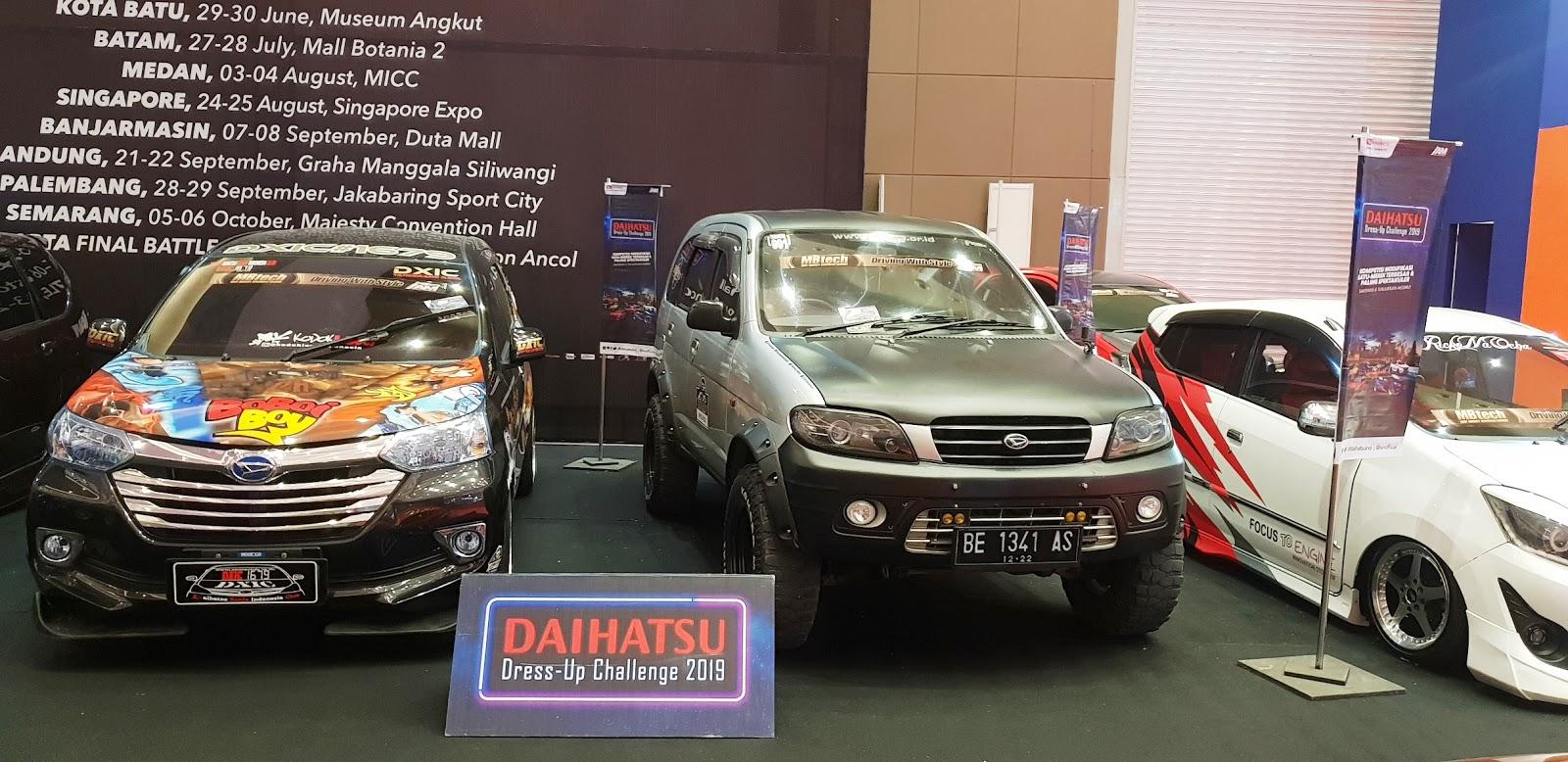 Daihatsu Modification Contest Sambangi IIMS Jakarta
