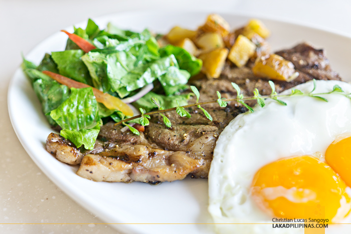 Taal Vista Hotel Taza Fresh Table Restaurant Wagyu Steak