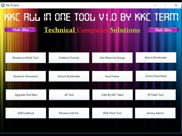 All Android Mobile Latest Flashing Tool Pack In One Setup No Need Free Download