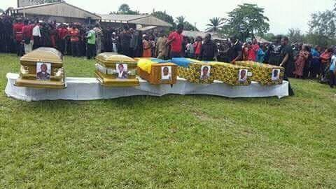 Graphic: Woman loses husband, brother and her four kids on the same day