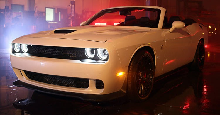 world s first dodge challenger hellcat convertible costs 139 000 w. Cars Review. Best American Auto & Cars Review