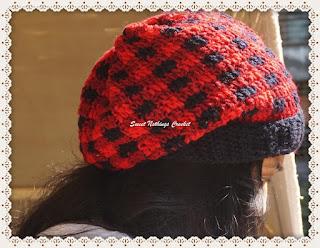 crochet unisex headwear