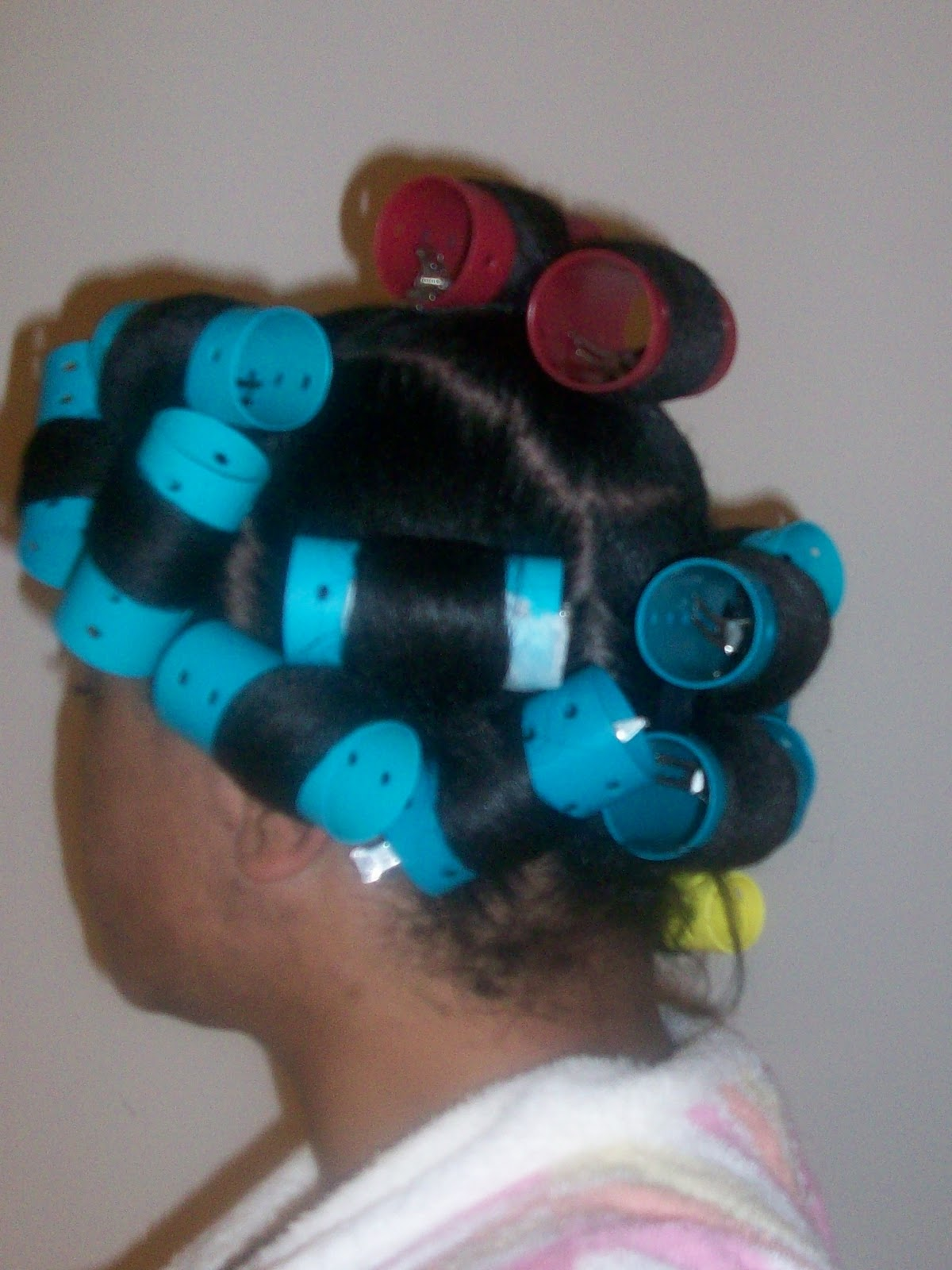 Wash Day - 1st Ponytail Rollerset - Longing 4 Length