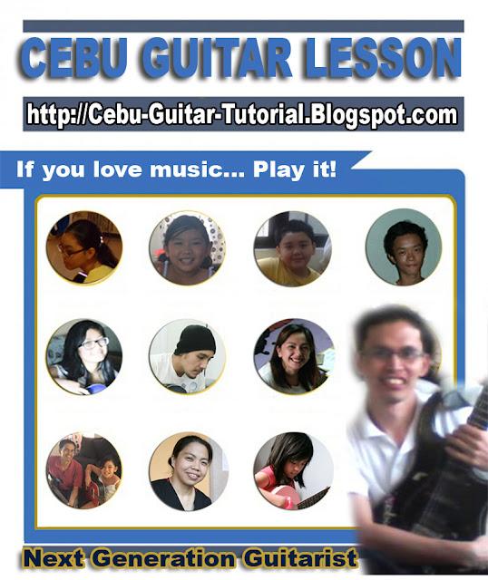cebu guitar lesson infographics
