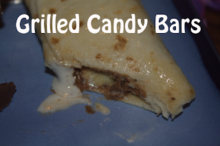 Grilled Candy Bars