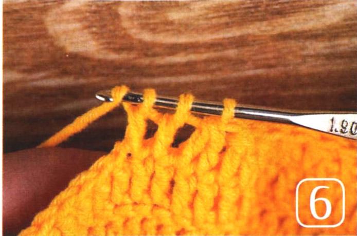 Рукав «фонарик», связанный от проймы