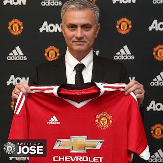 Jose Mourinho Pelatih Baru Man United