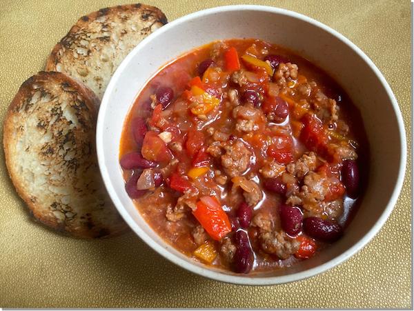 Spicy Italian Sausage & Kidney Bean Soup Recipe