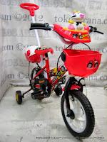 Sepeda Anak Evergreen EG1240 Jeep 12 Inci - Red