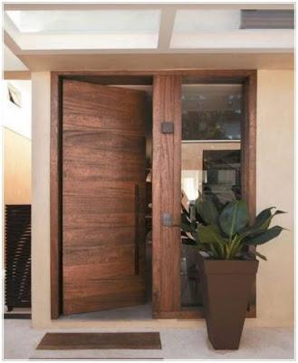 model daun pintu utama minimalis