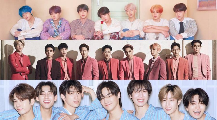 BBMAs 2019] BTS, EXO y GOT7 nominados a Top Social Artist en