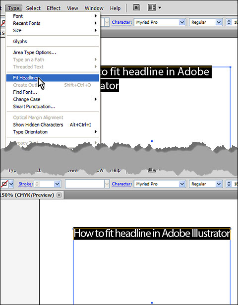How to Fit Headline to Textbox in Adobe Illustrator | DesignEasy