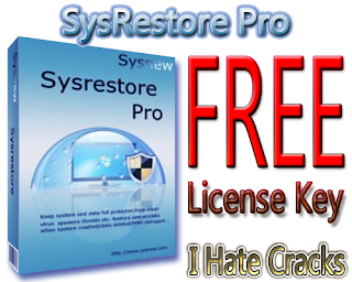 Get SysRestore Pro With Free And Legal License Key