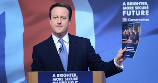 Is there a lesson for procurement in Tory's forgotten manifesto?