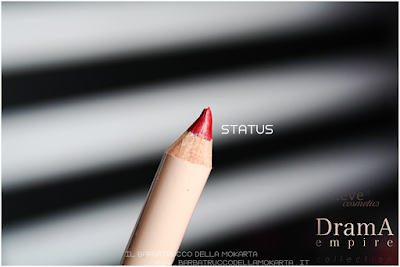 STATUS review Bio Pastello Labbra drama empire collection neve cosmetics