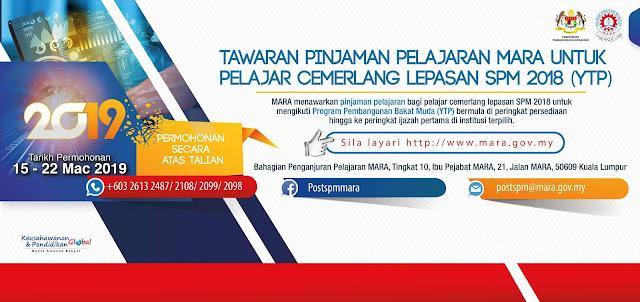 Biasiswa MARA Scholarship Lepasan SPM