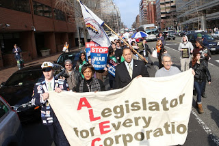 ALEC and its class war aimed to hamstring local initiative.