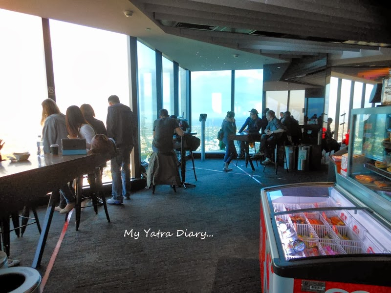 Inside of the Eureka Sky deck, Melbourne Victoria Australia