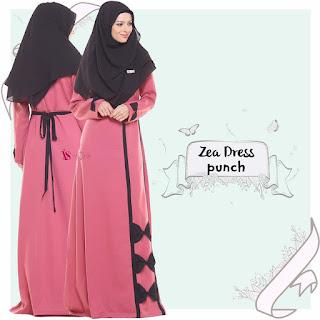 Gamis Valisha Zea Dress Punch
