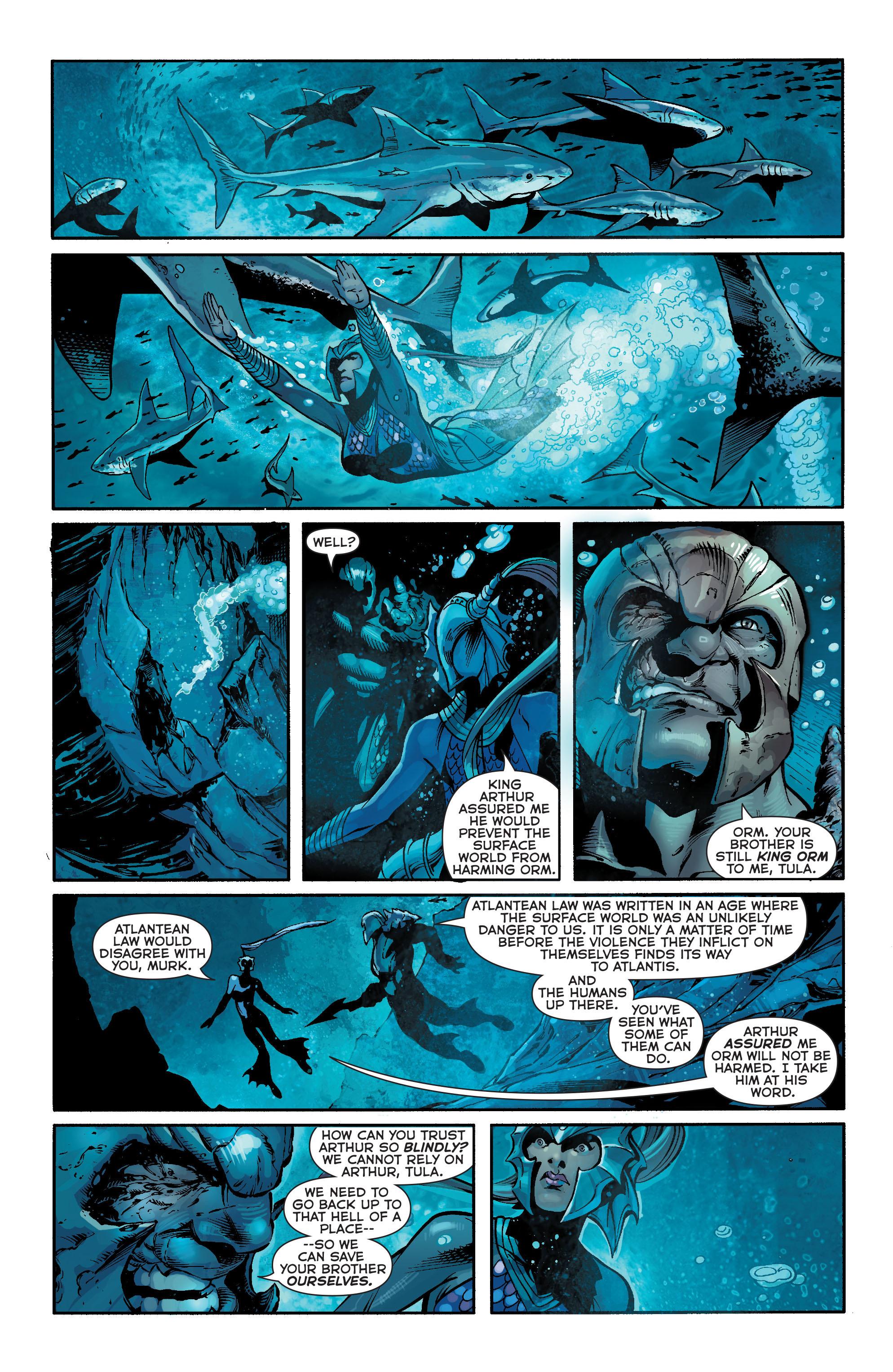Read online Aquaman (2011) comic -  Issue #18 - 17