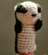 http://www.ravelry.com/patterns/library/charlie-the-badger-puppet