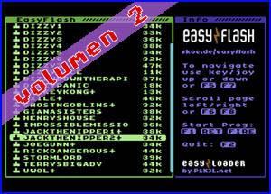Easyflash Portable:  Volumen 2 (Juegos para Commodore 64)