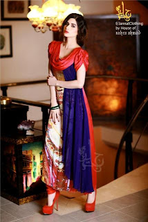 Janat Nazir New spring Summer Collection 2013 for Women