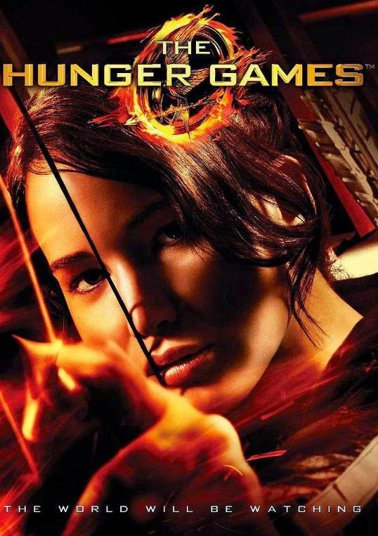 Jennifer Lawrence in Hunger Games Catching Fire