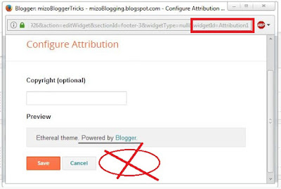powered by blogger widget remove theihloh