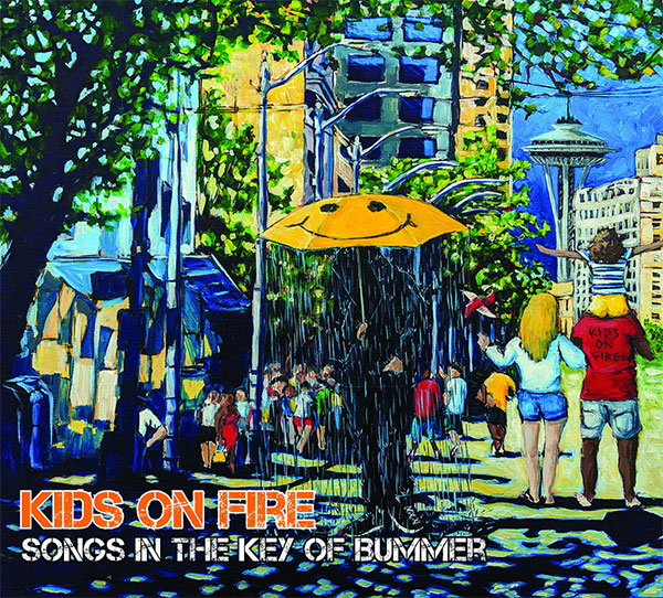 """Kids On Fire stream new album """"Songs In The Key Of Bummer"""""""