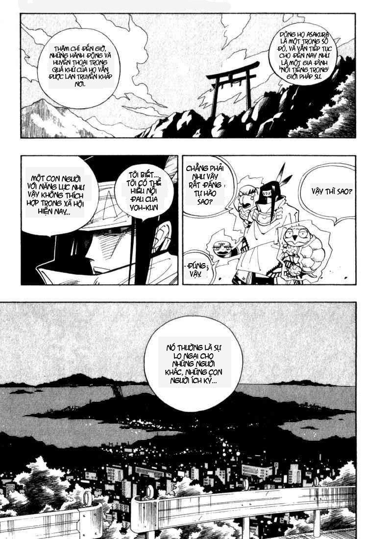 Shaman King [Vua pháp thuật] chap 43 trang 12