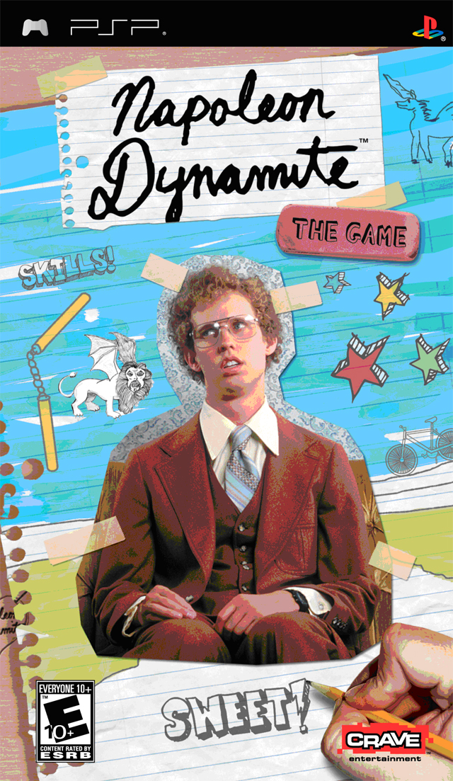 Napoleon Dynamite - The Game - PSP - ISO Download
