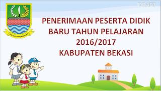 Pedoman PPDB 2016 / 2017 Kabupaten Bekasi SD, SMP, SMK, SMA