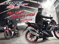 Harga dan Spesifikasi Honda Sonic 2018, Tersedia 4 Pilihan Warna Makin Agresif