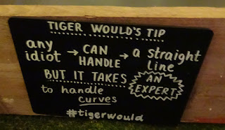 Tiger Would's Mini Golf tips at Birdies Crazy Golf Club in London