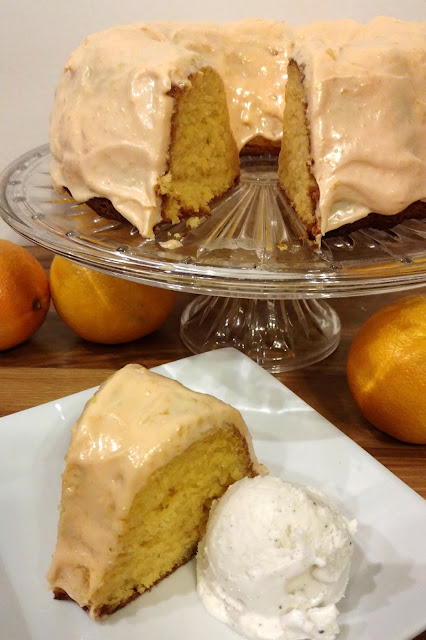 Serve this dreamy orange creamsicle cake with vanilla ice cream!  The fresh orange juice and zest in the cake and frosting give it the perfect amount of bright citrus flavor!