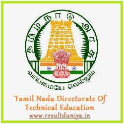 TNDTE Diploma 1st 3rd 5th Odd Semester Results 2016