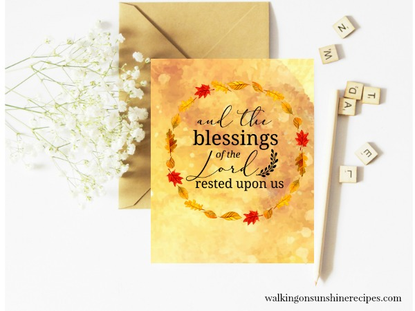 The Blessings of the Lord