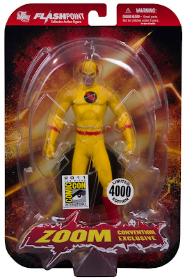 DC Direct x Graphitti Designs San Diego Comic-Con 2011 Exclusive Profession Zoom Flashpoint Action Figure