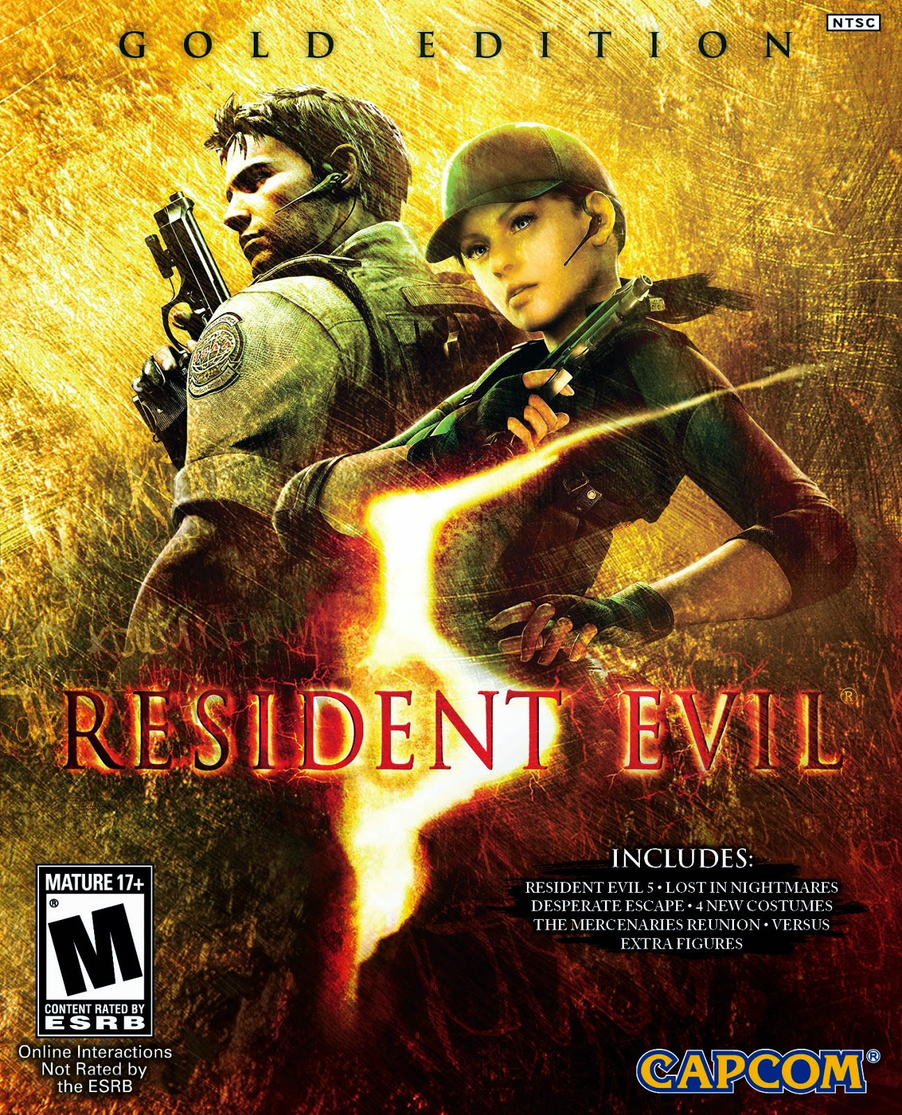 Resident Evil 5 Gold Edition Cover Caratula PC