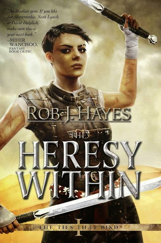 Guest Blog by Rob J. Hayes:  Flawed Characters – Nobody Likes a Goody Two Shoes  - November 12, 2014