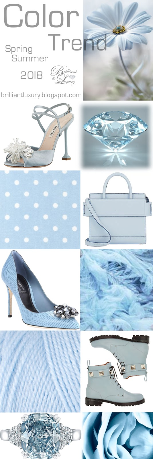 Brilliant Luxury ♦ Color Trend 2018 ~ Festival ~ Baby Blue