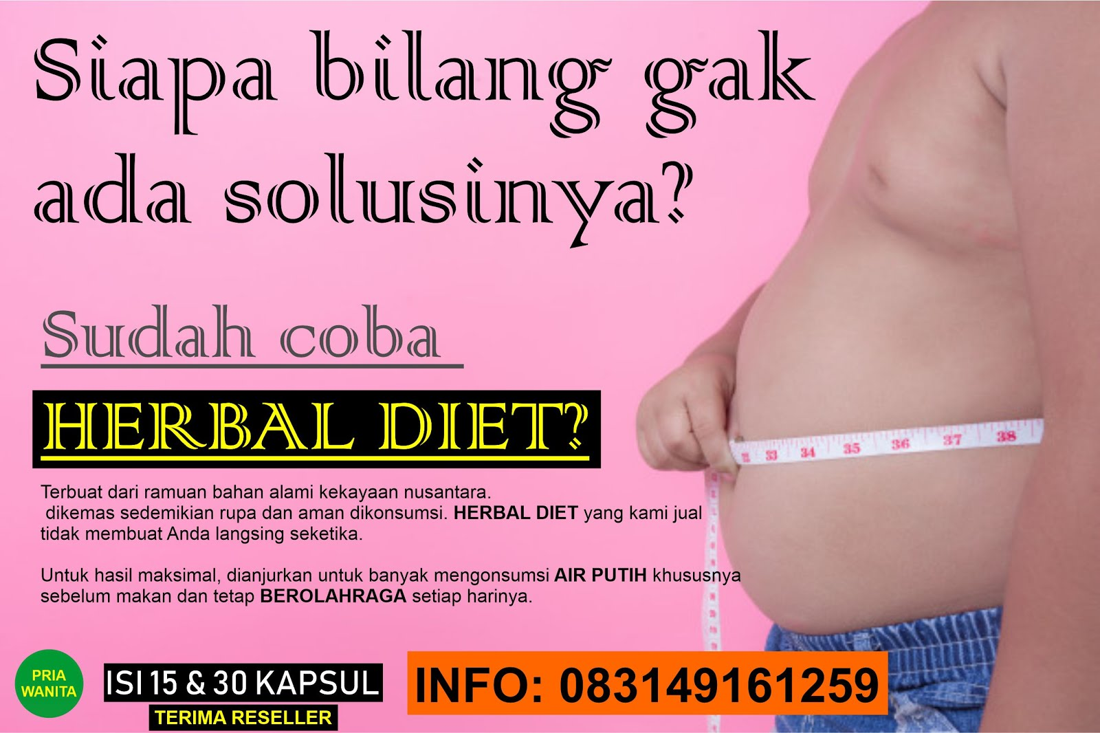 Kapsul Herbal Diet