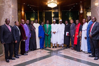 Buhari and Northern Christian Leaders Eagles Eyes Forum