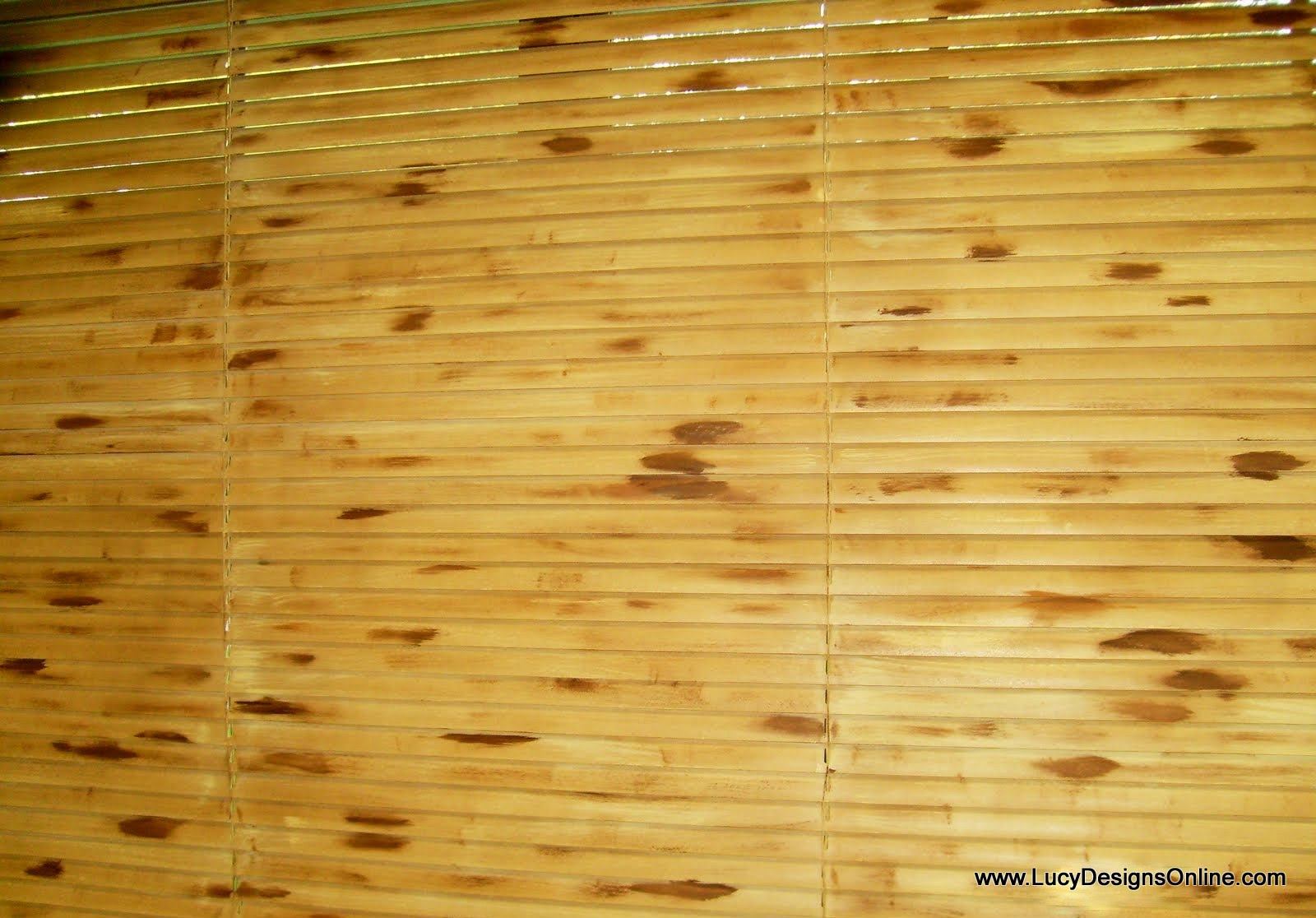 bamboo mini blinds