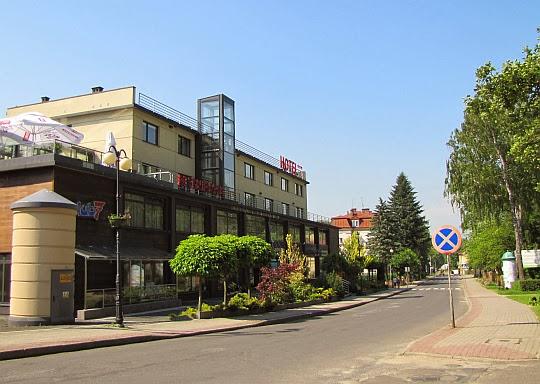 """Iwonicz-Zdrój. Hotel """"Glorietta""""."""
